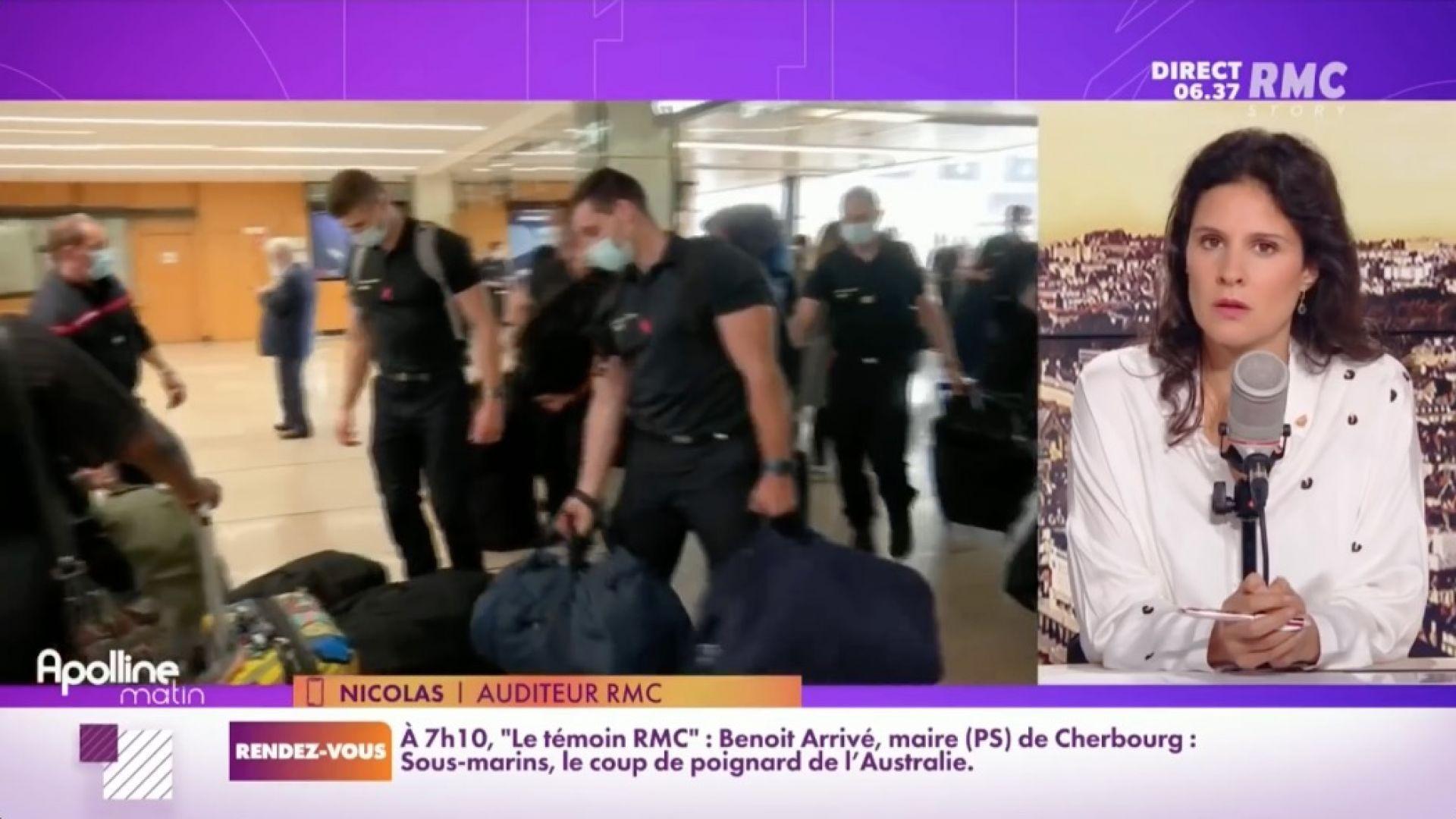 Nicolas Revient dégouté d'un voyage de renfort Covid en Martinique - RMC