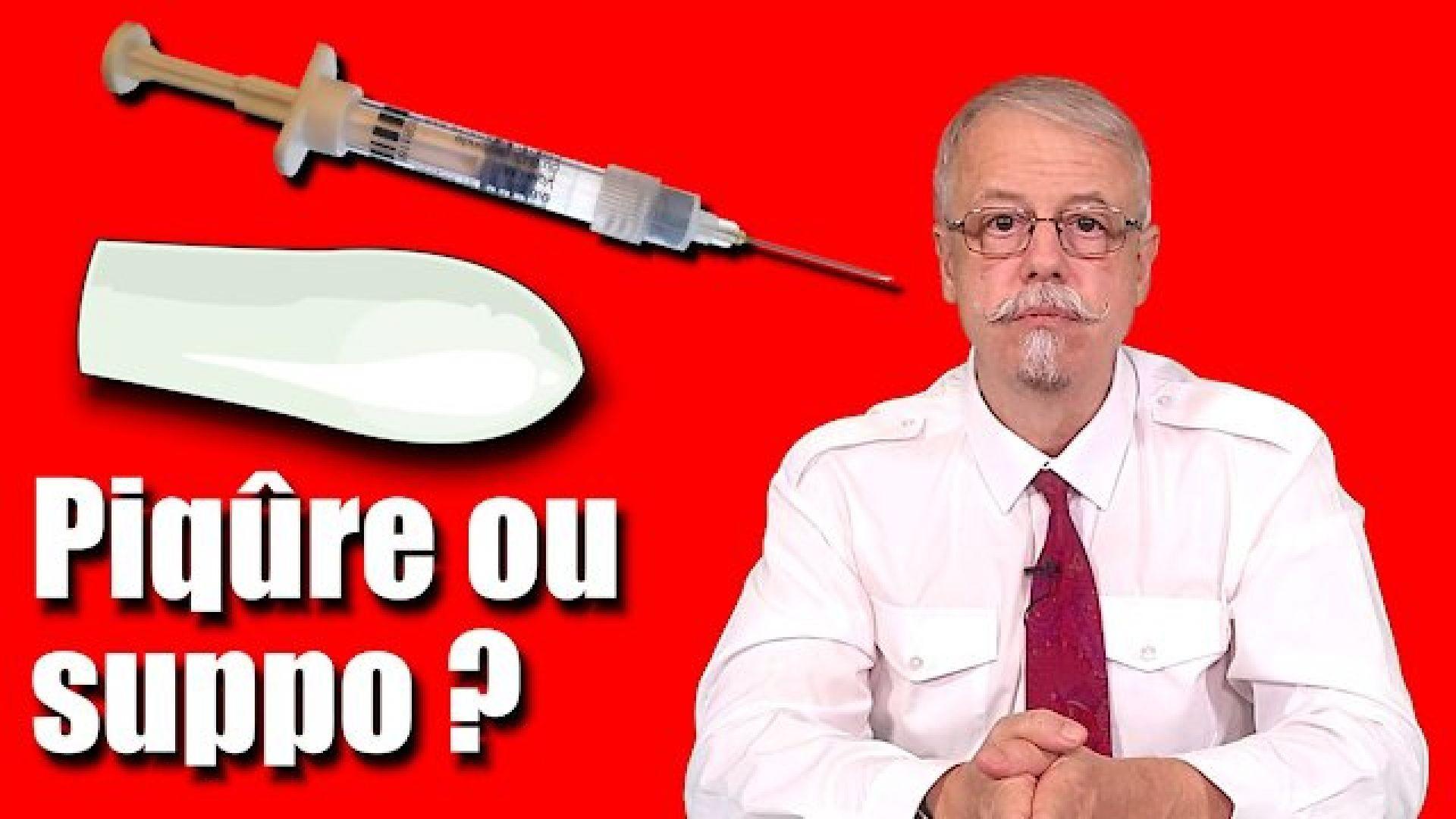 Piqure ou suppo ? La récidive de l'Institut Pasteur pour vous empoisonner ?